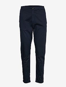 News Edit Trouser - casual trousers - dk blue
