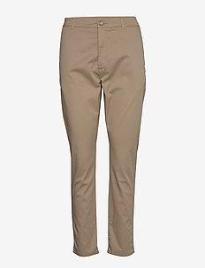 News Edit Trouser - casual trousers - khaki beige