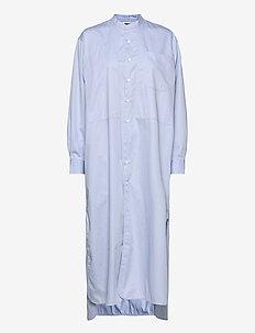 Angle Shirt - vardagsklänningar - shirt blue