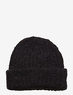 Wave Hat - bonnets - faded black