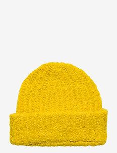 Wave Hat - bonnets - yellow