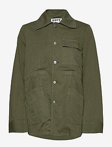 Banda Jacket - utilityjackor - khaki green