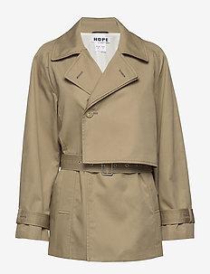 Trace Jacket - BEIGE