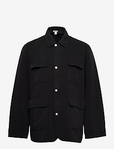 Tract Jacket - FADED BLACK
