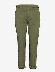 News Trousers - KHAKI GREEN