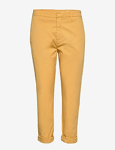 News Trousers - chinos - mustard