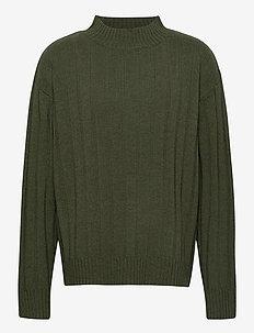Om Sweater - KHAKI GREEN