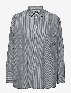 Elma Shirt - koszule z długimi rękawami - dk navy stripe