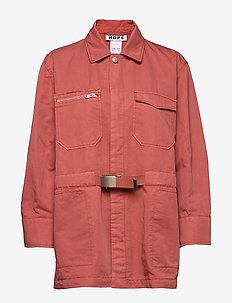Carry Jacket - kurtki użytkowe - coral pink