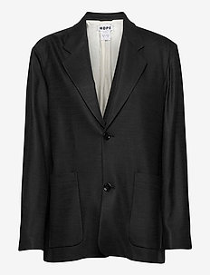 Box Blazer - blazers - black