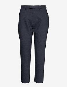 Krissy Edit Trouser - casual trousers - navy stripe