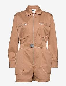 Fly Jumpsuit - haalarit - copper beige
