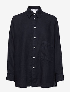 Elma Shirt - long-sleeved shirts - navy