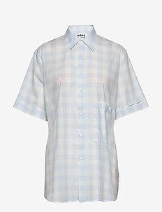 Elma Shortsleeve - koszule z krótkim rękawem - blue check