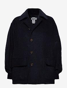 Bon Jacket - kurtki dżinsowe - navy