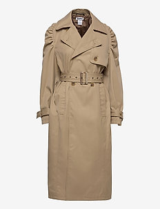 Court Trenchcoat - trenchcoats - beige