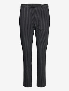 Krissy Edit Trousers - slim fit bukser - grey stripe
