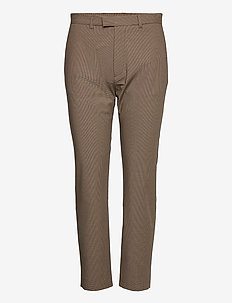 Krissy Edit Trousers - casual bukser - brown check