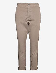 News Edit Trousers - broeken med straight ben - olive