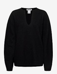 Expand Sweater - neulepuserot - black