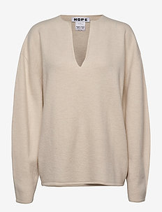 Expand Sweater - gensere - off white