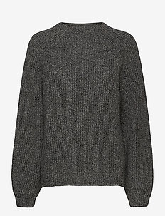 Blank Sweater - gensere - grey mel
