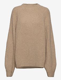 Blank Sweater - gensere - nature