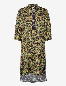 Flex Dress - shirt dresses - floral print