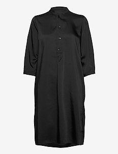 Flex Dress - skjortekjoler - black