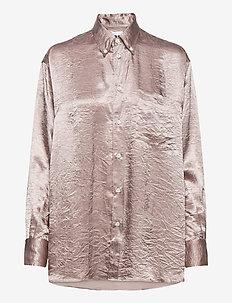 Void Shirt - langermede bluser - dusty pink