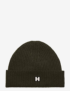 H Hat - chapeaux - dk forest green