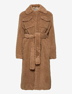 Master Coat - faux fur - lt brown