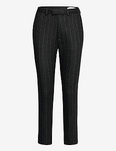 Krissy Edit Trousers - slim fit broeken - grey stripe