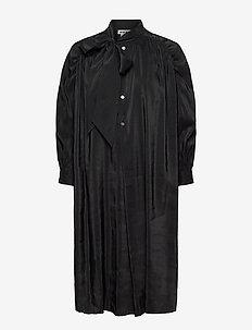 Rise Dress - robes chemises - black
