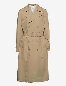 Dual Coat - trenchcoats - beige