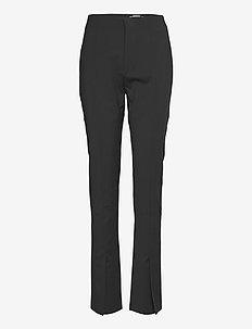 Trim Trousers - slim fit-byxor - black tailored