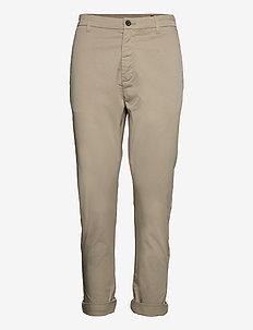 News Edit Trousers - chinos - light khaki beige