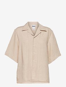 Diner Shirt - jeansblouses - beige