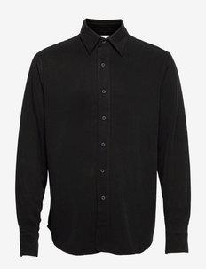 Scene Shirt - chemises de lin - faded black