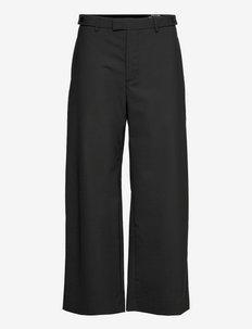 Knox Trousers - uitlopende broeken - black suit