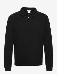 Solo LS Sweater - polos à manches longues - black