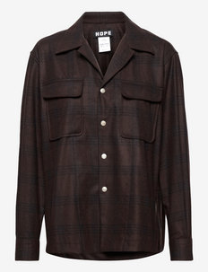 Wall Shirt - kleding - brown check