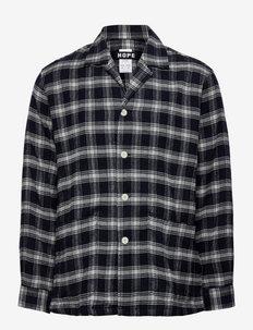 Fore Shirt - kleding - dk navy check