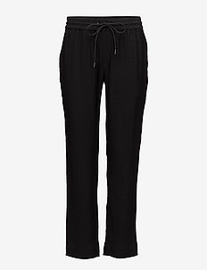 Lino Trouser - BLACK