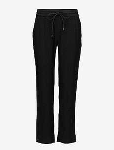 Lino Trouser - spodnie na co dzień - black