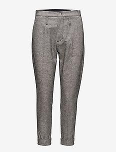 Law Trouser - slim fit spodnie - dk blue mel