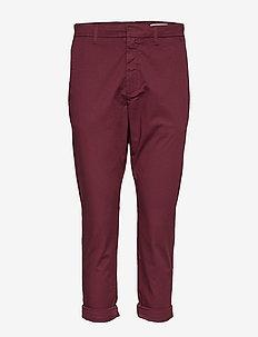 News Trouser - PLUM