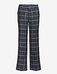 Beat Trouser - PLUM CHECK