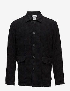 Shirt Jacket - BLACK