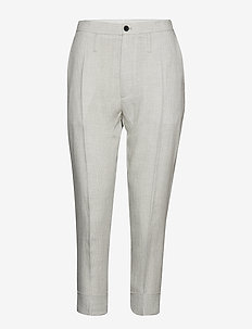 Law Trouser - GREY DOGTOOTH